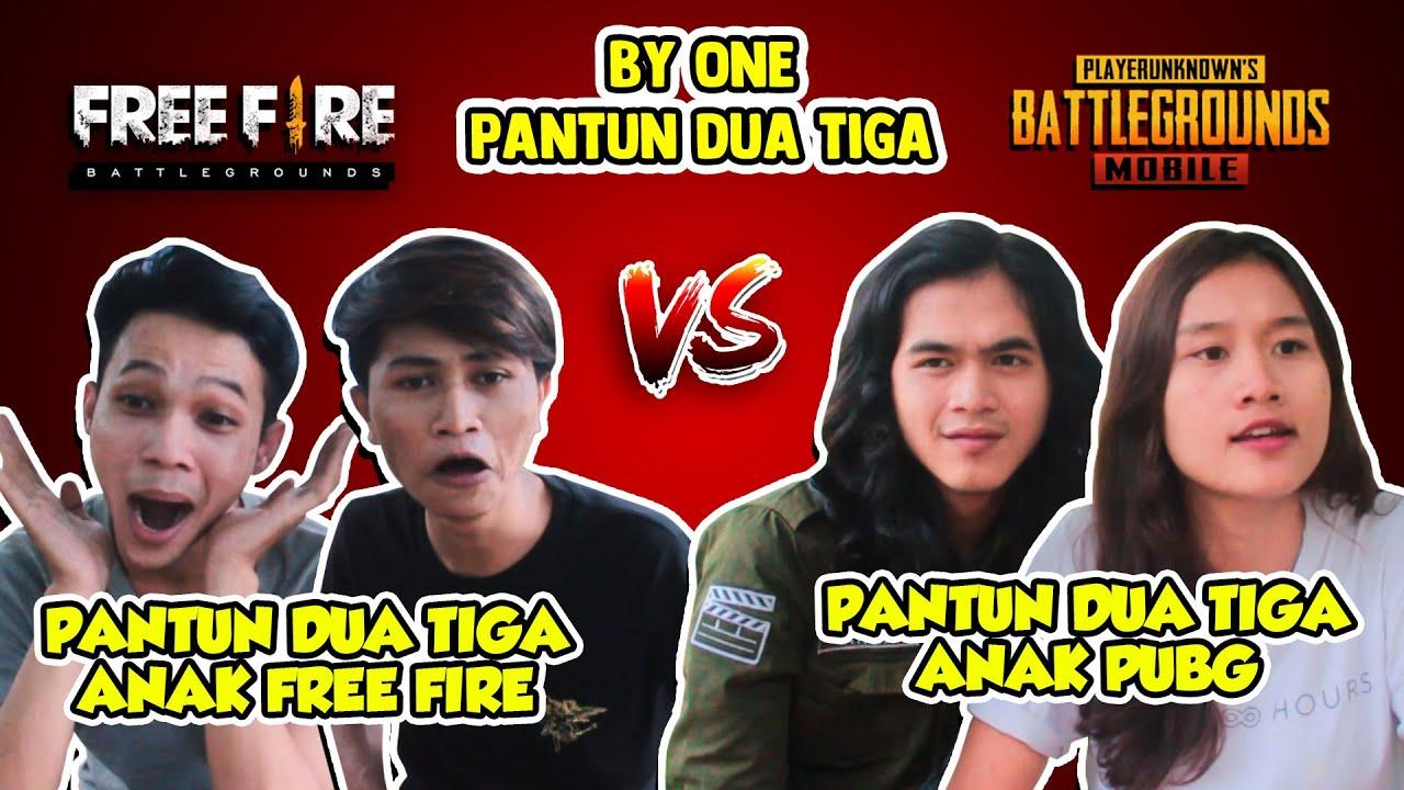 PANTUN DUA TIGA FREE FIRE VS PUBG - ALDI TV - YouTube