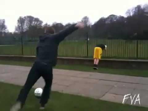 FVA  Football Kick Fail