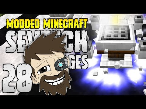Minecraft SevTech: Ages | 28 | THE AGE 3 TROLL! | Modded