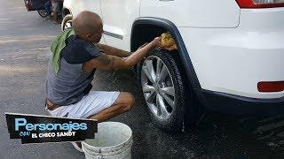De pelotero de Grandes Ligas a lavar carros. PERSONAJES CON CHICO SANDY