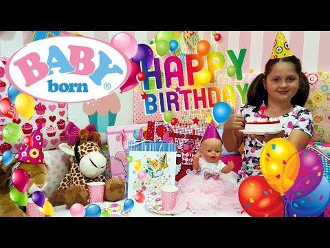 👶🏽 BABY BORN BIRTHDAY 🎉 PRZYJĘCIE URODZINOWE 🎂
