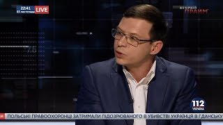 Евгений Мураев в «Вечернем Прайме» на телеканале «112 Украина», 03.11.17