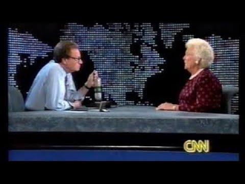 Barbara Bush on Larry King Live (t 1994)