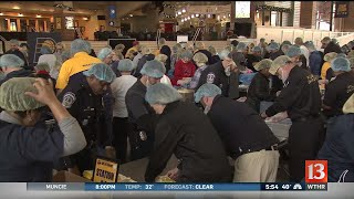 Pacers pack holiday meals