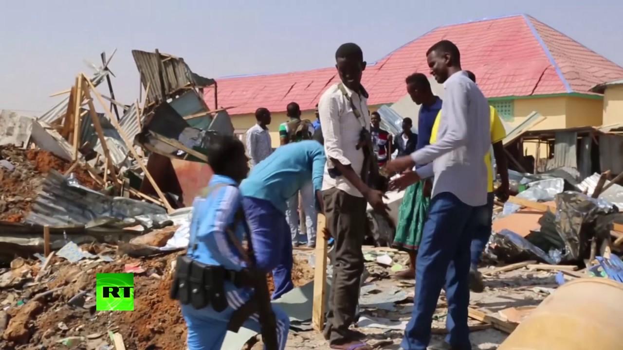 Не менее 20 человек погибли в результате взрыва в Сомали