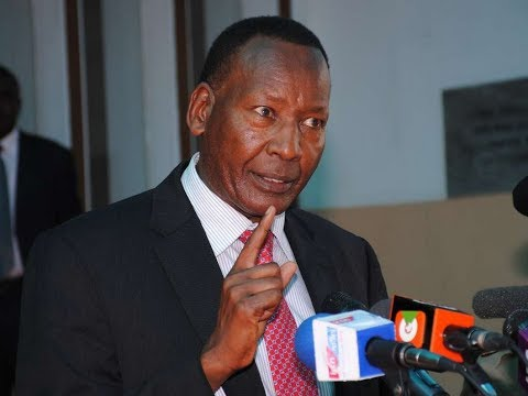 #RIPNKAISSARY, The world is mourning Mj General Joseph Nkaissery,