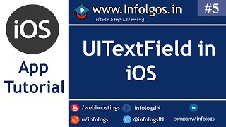 How to use UITextField in iOS Mobile Application - Tutorial 5