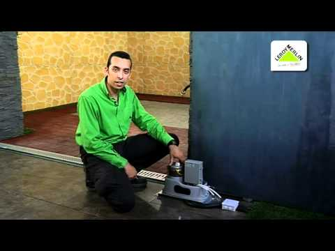 Instalar un motor de puerta de garaje leroy merlin youtube - Toile de vernieuwing leroy merlin ...