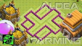 Clash Of Clans | Diseño Aldea Para Ayuntamineto 5 (Aldea Farming)