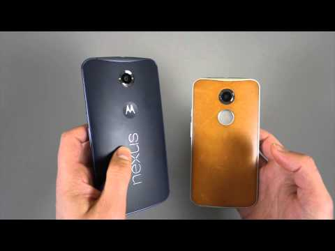 Nexus 6 vs. DROID Turbo, Moto X (2nd gen), Nexus 5, Galaxy Note 3, and More [Size Comparison]