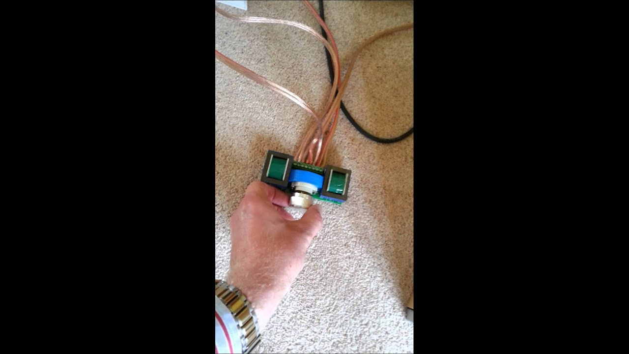 Speaker Volume Wall Plate Test Youtube Wiring