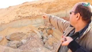 شاهد.. مشروعات جديدة تهدد تراكيب جيولوجية نادرة في صحراء التجمع الخامس
