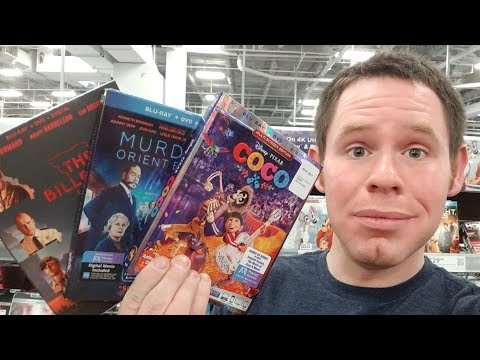 Blu-ray / Dvd Tuesday 2/27/2018 Out and About Video