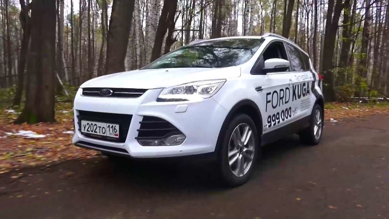 2015 ford kuga titanium plus test drive youtube. Black Bedroom Furniture Sets. Home Design Ideas
