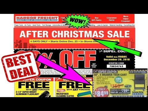 Harbor Freight Christmas Eve Hours.Harbor Freight 25 Off Coupon New Years