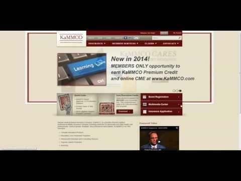 Member Web Resource Orientation for www.KaMMCO.com