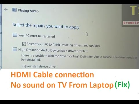 Hdmi Cable Sound Not Working On Tv Hp Laptop: No sound on TV in HDMI cable connection from HP laptop to Sony rh:youtube.com,Design