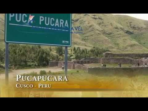 Puca Pucara -  Inca ruins located near Cusco City