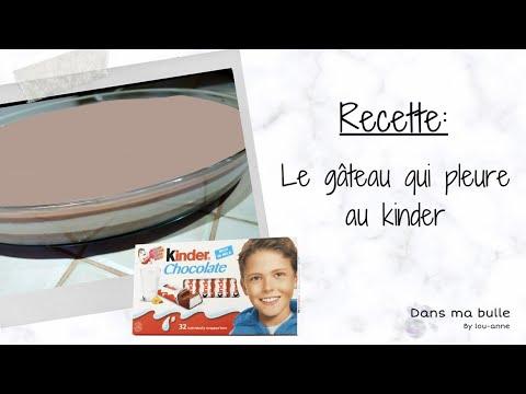 "recette-du-gâteau-qui-pleure-au-kinder-""aglayan-pasta"""