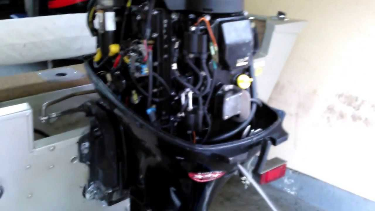 Mercury 25 Wiring Diagram Will Be A Thing 2 Stroke Scooter Schematic 60 Hp 4 2001 Youtube Outboard