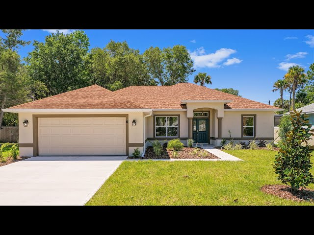 Model KAYLA. Certified Aging-in-Place Green Home for Sale in Palm Coast, Florida.