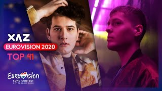 Cover images Eurovision 2020: Top 41