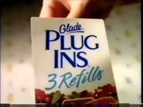 1990s Glade Plug Ins Refill Commercial Compilation