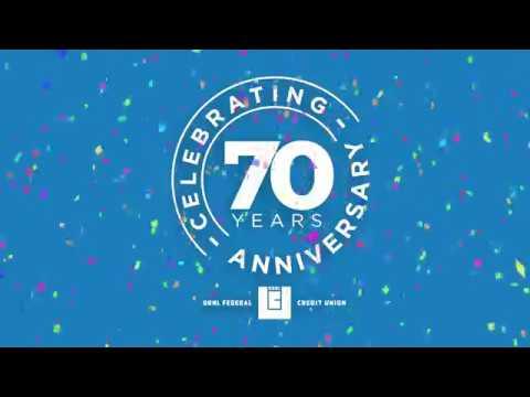 Happy 70th Anniversary Ornl Federal Credit Union Youtube