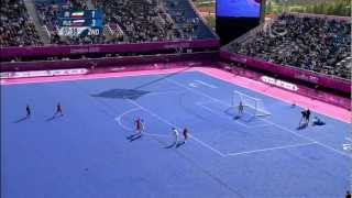 Football 7-a-side - IRI vs RUS - 2nd half - Men's Pool A Prelims - London 2012 Paralympic Games