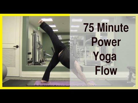 75 Minute Power Yoga Flow