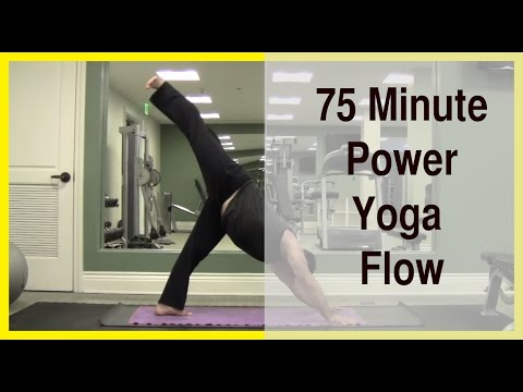 75 Minute Power Yoga Flow