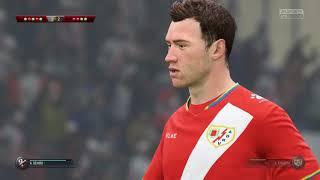 FIFA 18 PS4   HUESCA vs RAYO VALLECANO   SPANISH PRIMERA DIVISIÓN PREDICTION PENALTIES   CPU VS CPU