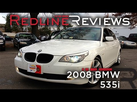 2008 BMW 535i Review Walkaround Exhaust Test Drive  YouTube