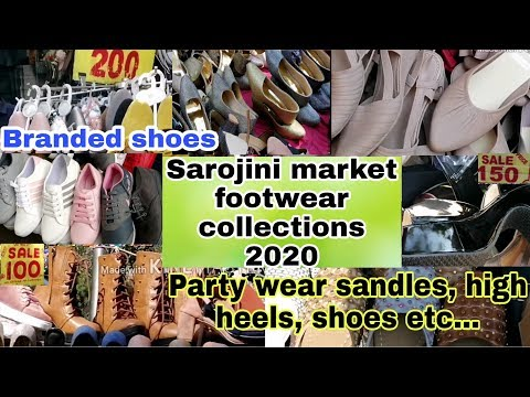 sarojini-nagar-market-delhi-2020- -latest-footwear-collection- -best-shop-no.