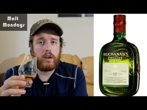 Buchanan's 12 De Luxe Review: Whisky Review #26