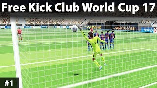 Free Kick Club World Cup 17 - Android Gameplay Game Walkthrough - FC Barcelona