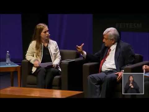 AMLO habla sobre amnistía en el Tec de Monterrey