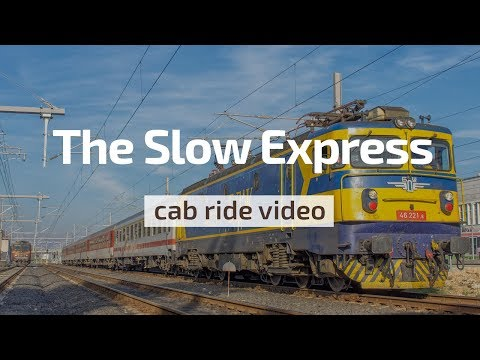 Cab Ride Bulgaria 🛤️ The Slow Express 😬 Dimitrovgrad - Mihailovo (BDZ 46 221)