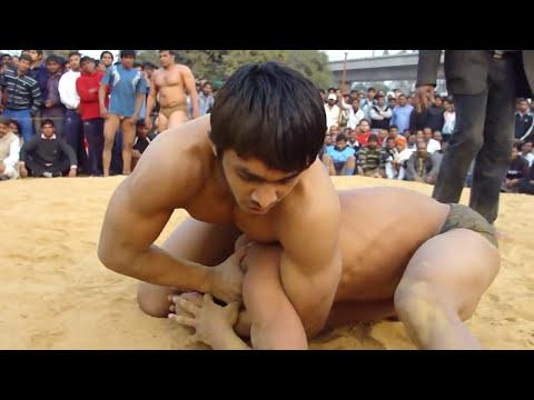 Jeetu Pahalwan vs Ashish Railway Akhada, New Delhi जीतू पहलवान गुरु श्यामलाल