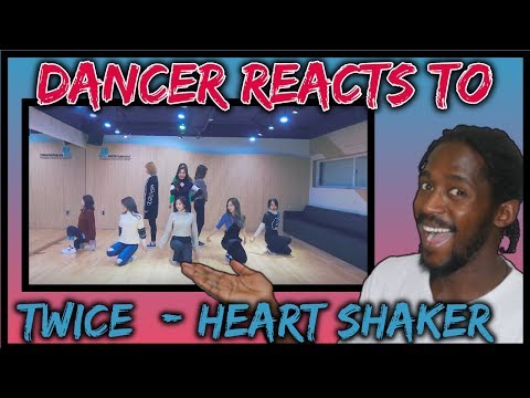 DANCER REACTS TO TWICE \