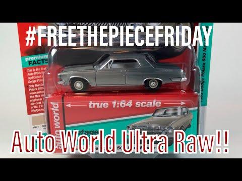 Free The Piece Friday - Auto World Ultra Raws!