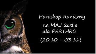 Gambar cover Horoskop Runiczny na Maj 2018 dla PERTHRO