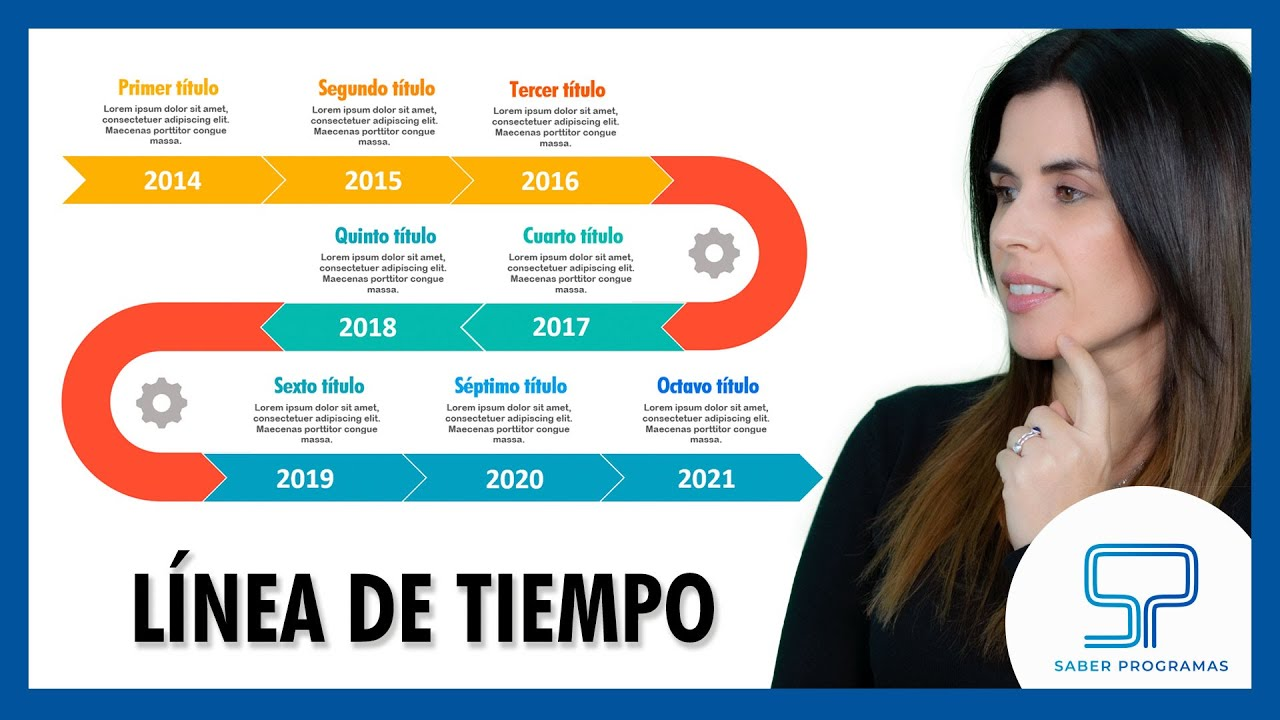 Word   Cómo hacer una línea de tiempo en Word paso a paso   Timeline en Word. Tutorial en español HD