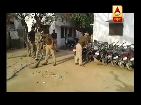 Uttar Pradesh police runs cleanliness drive at police stations