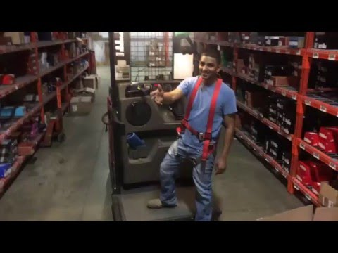 UN-OFFICIAL Forklift training video - Order Picker