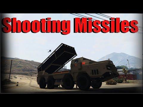 Gta 5 Online | Chernobog - Shooting Missiles