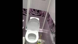Панели ПВХ в туалете(Быстро, дешево и просто., 2016-04-11T09:28:46.000Z)