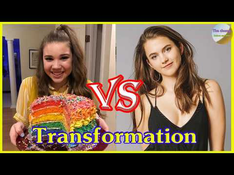 Chloe East vs Madison Haschak transformation from 1 to 17 years old