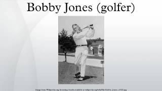 Bobby Jones (golfer)