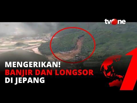 Mengerikan! Penampakkan Banjir
